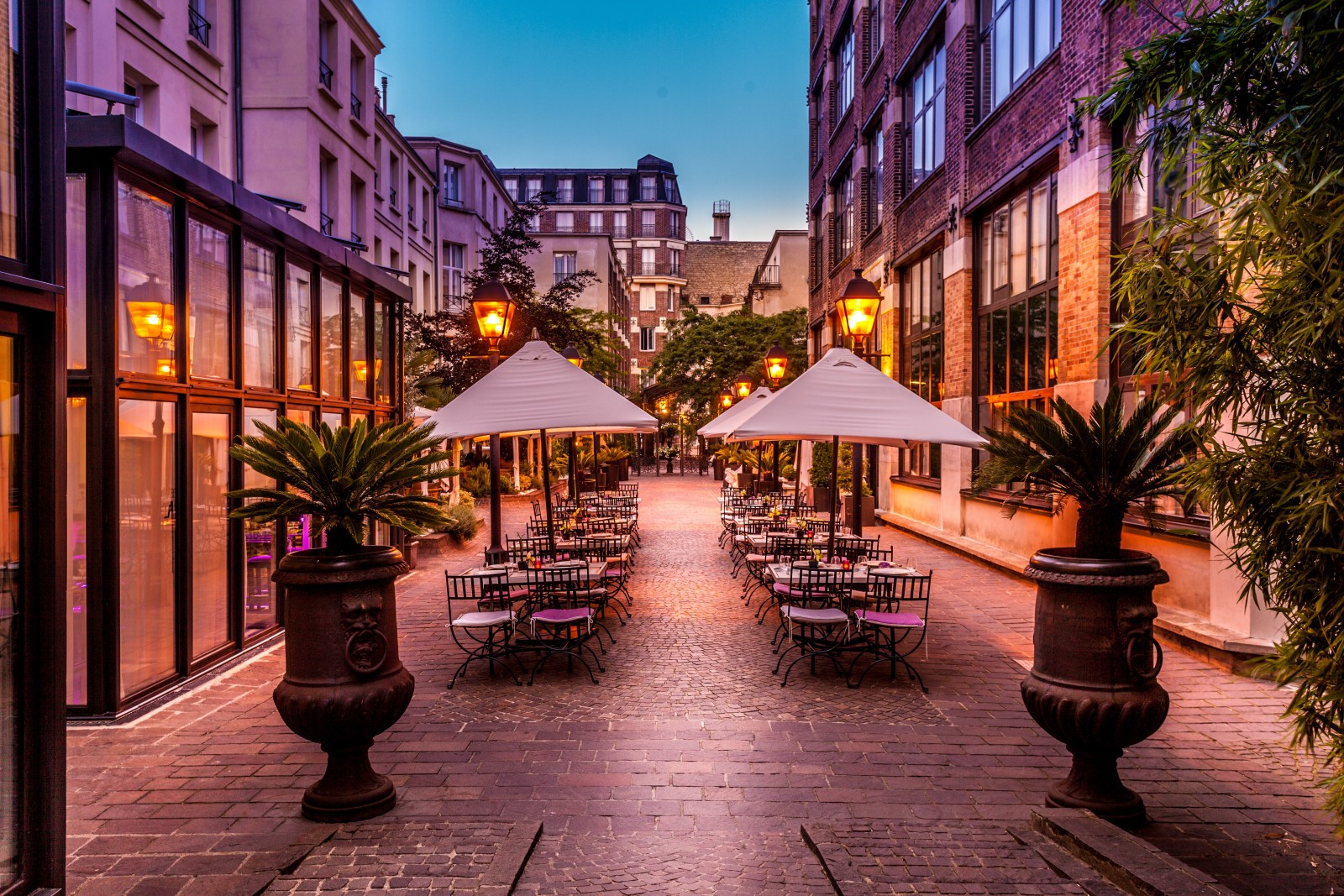 The gate collection 4 star boutique residence paris les jardins du marais - Jardins du marais restaurant ...